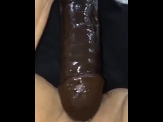 Rock hard big black cock fuck stick climax