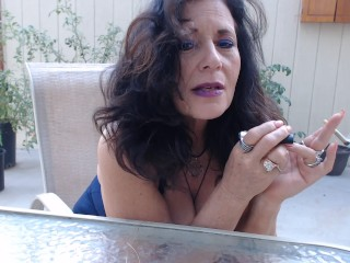 Puckered MATURE soles point of view outdoors- you idolize while I smoke|1::Big baps,6::Amateur,16::Mature,20::MILF,38::HD,46::Verified Amateurs,56::so