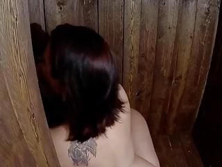 hot gloryhole fuck and piss