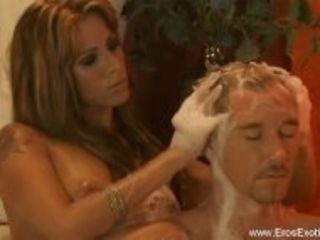 """""""Blonde Gives A Handjob Massage"""""""