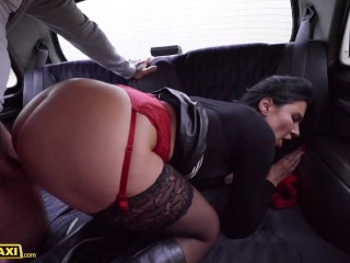 'Fake Taxi Ania Kinski Takes Cabbie's Cock for a Ride in Her Pussy'