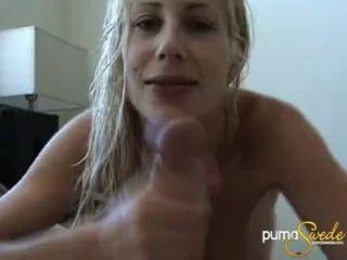 POV Blow Job Homemade Puma Swede Facial Cum Cumshot|1::Big Tits,4::Blowjob,12::Cumshot,20::MILF,26::Blonde,46::Verified Amateurs