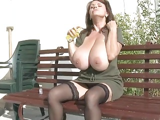 Milena in the Garden