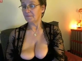 Incredible Amateur movie with Big Tits, Stockings scenes