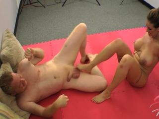 Eva Notty Testicle Grappling
