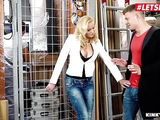 LETSDOEIT - MILF Stepmom Klara Has MMF Sex With Her Stepson