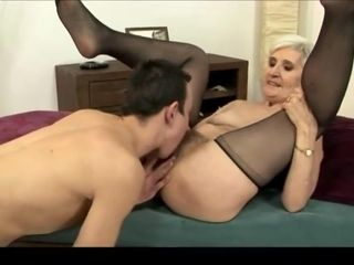 Age-old haired granny everywhere stockeverywheregs fucked