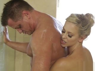 Cute mature massage a guys big hard cock and sucked it