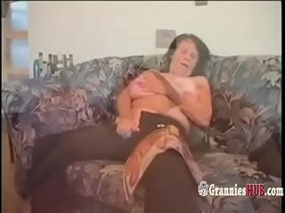 Hot GILFs with the addition of Grannies Masturbate with the addition of mad about Compilation